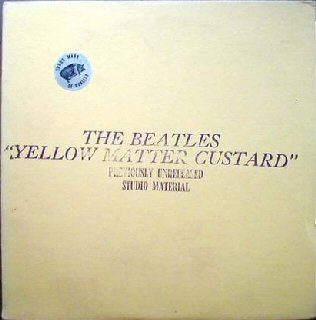 The Beatles Yellow Matter Custard Trade Mark Of Quality